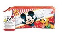 Jumbo Federtasche Schulmäppchen Stifte Etui Disney Mickey Maus & Pluto