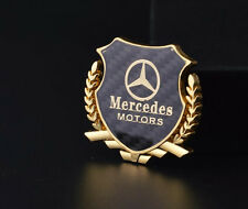 1PCS Car emblem Side Window Fender Badge Decal Sticker For Mercedes Benz GLK CLS