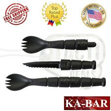 Ka-Bar Tactical Spork Fork Spoon Knife Camping Hiking Made In The USA KaBar 9909