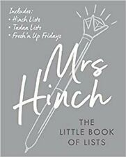 Mrs Hinch: The Little Book of Lists by Mrs Hinch 9780241461877 | Brand New