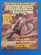MOTOCROSS ACTION MAGAZINE MARCH 1978 KAWASAKI KX250-A4 FOUR STROKE CHAMPIONSHIP