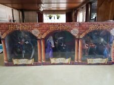 Harry Potter Mattel Collector of Scenes 2001 Three Pack Bnib Figurines