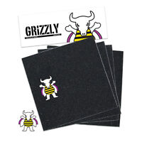Grizzly Griptape Brandon Biebel Pro Skateboard Grip Tape Squares