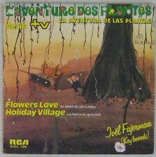 L'Aventure des Plantes 45 tours Joel Fajerman 1982 Espagne