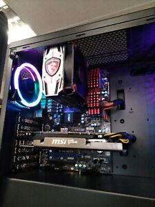 PC GAMER MSI, AMD FX 8350 @ 8 X 4,00 GHZ, 16 GO DDR3, RADEON HD 7950 - 3 GO, W10