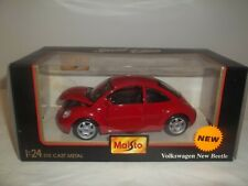 Maisto 31975 VW Beetle 1/24 Red Mint & Boxed