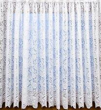 "Charlotte lace net curtain 72"" drop"