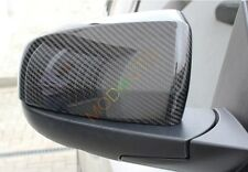 For BMW X5/X6 E70 2008-2013 Carbon Fiber Rear Rearview Mirror Cover Trim 2PCS