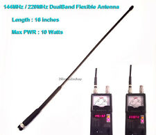 Ham Amateur Radio 144/220MHz Dual Band 2M and 1.25M BNC Flexible Antenna
