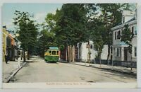 Bristol Pa Radcliffe Street, Trolley Pennsylvania Postcard N6