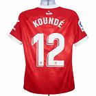 2020-2021 Sevilla Match Issue Away Shirt #12 Kounde Nike Large (Excellent)