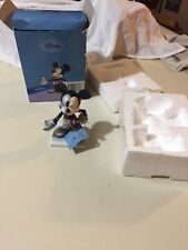 "Mickey 6"" Figurine 75th Disney Inspearations 17807 Opened Box"