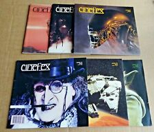 "MULTI-LIST SELECTION OF BACK ISSUE ""CINEFEX""  MAGAZINES (19780s +)  FREE UK P/P"