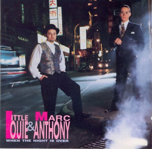 """MINT Original US CD """"Little"""" Louie* & Marc Anthony When The Night Is Over 1991"""