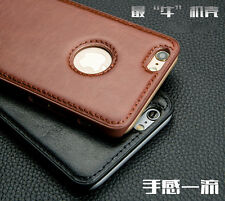 For iPhone 7 7 Plus 6 6 Plus 5s Luxury Leather Skin Cow Texture Case Back Cover