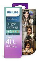 Philips LED SceneSwitch B38 E14 Kerze 470 Lumen 2200-2700K wie 40W