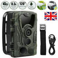 1080P 20MP Hunting Trail Camera Wildlife Scouting IR Night Vision Waterproof Cam