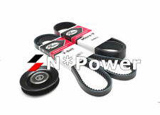 GATES DRIVE BELT PULLEY KIT FOR HOLDEN Colorado RC 07.08-05.12 Turbo 4JJ1-TC