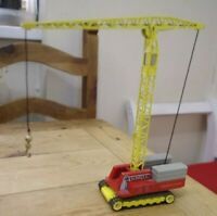 Vintage Corgi Major Tower Crane No 1155