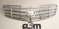 2006-2011 Cadillac DTS Front Brushed Chrome Grille w/o Emblem new OEM 25764213