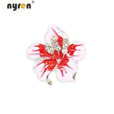 Multi Color 18mm Snap Button Rhinestone Flower Snap Charms 20mm Snap Jewelry 058