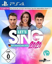 Ps4-Let 's Sing 2020 con alemanes hits - (nuevo con embalaje original)