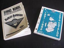 HARLEY FXR 1991 / 1992 FLT / FXR Service Shop Manual + Parts