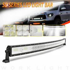 "50"" Inch 1560W LED 5D Curved Work Light Bar Combo Driving Offroad Lamp Car Truck"