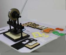 Hand press mold mould Die sample cutting machine Leather cutter creasing machine