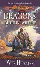 Dragonlance Chronicles #1: Dragons of Autumn Twilight by Weis & Hickman (MM PB)