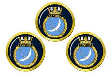 HMS Cynthia, Royal Navy Golf Ball Markers