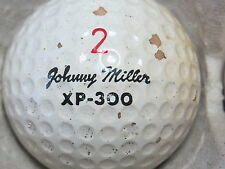 (1) JOHNNY MILLER SIGNATURE LOGO GOLF BALL (CIR 1971 #2 XP-300)