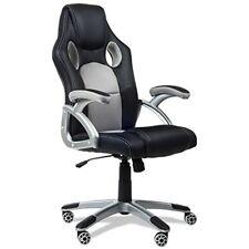 Mc Haus 9701g Chaise de bureau pivotante 72 x 30 x 60 cm Gris
