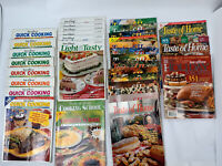 Lot 33 Vintage TASTE OF HOME Issues Cooking Magazines Recipes Ranges 94' - 07'