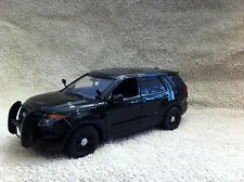 1/24 SCALE BK FD INTERCEPT EXPLORER STEALTH PD MODEL WITH WORKING LIGHTS/SIREN
