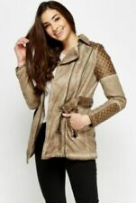 Unbranded Brown Polyester Outer Shell Coats, Jackets & Waistcoats for Women