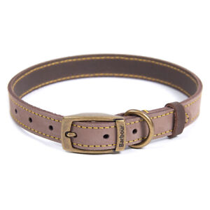 Barbour Leather Dog Collar Brown - SALE!