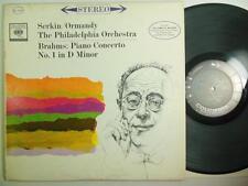 SERKIN / BRAHMS / ORMANDY: Piano Conert in D Minor Columbia 6-Eye Stereo MS 6304