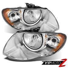 [LONG WHEEL BASE MODEL] For 05-07 Chrysler Town&Country LH+RH Set Headlight Lamp