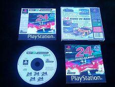 JEU Sony PLAYSTATION PS1 PS2 : 24 HEURES DU MANS (Infogrames COMPLET suivi)