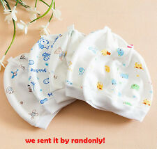 Soft Cute Hats Cap Newborn Sleep Hat Infant Baby Boy Girl Toddler Cotton