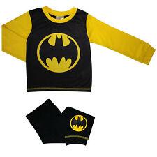 Boys Batman Signal Pyjamas - Cosy Toddler PJs - Sizes 18 Months to 5 Years