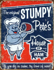 Pig Metal Ad Sign Country Kitchen Rustic Farmhouse Picture Diner Wall Decor Gift