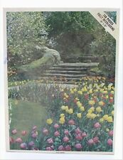 "New 4656 Whitman Jigsaw Puzzle Tulip Garden 750 Pieces Sealed 18""x22"""