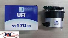 55.170.00 FILTRO GASOLIO FORD C-MAX - FIESTA - FOCUS - MAZDA 2/3 - VOLVO C30 S40