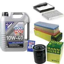 Inspection Kit Filter LIQUI MOLY Oil 5L 10W-40 for Fiat Doblo 119 1.4 Idea 350_