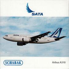 -  SCHABAK / SCHUCO  -  SATA A310  (Airbus)  -  1:600  -  3551506  -  NEU