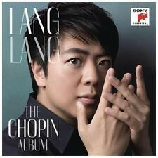 The Chopin Album by Lang Lang (CD, Sony Masterworks) solo piano NEW SEALED