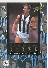 1995 Select Club Captain Gavin Brown Collingwood