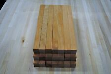 "21 piece Kiln Dry Cherry 7/8x7/8x12"" Lathe Turning Carving Pen Blank Lumber"